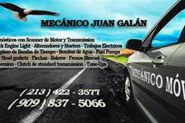 Mecanico Movil en Riverside County
