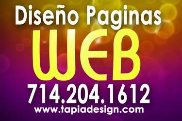 Diseñador de Paginas Web en Los Angeles