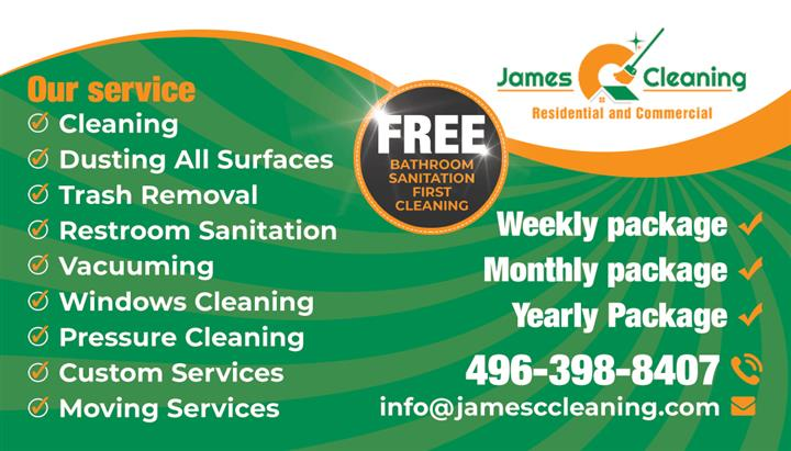 James C Cleaning image 2