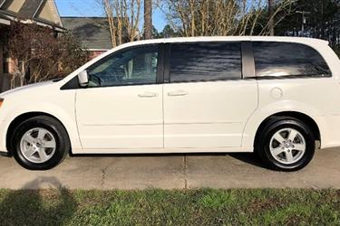 2012 DODGE grand caravan SXT en Los Angeles