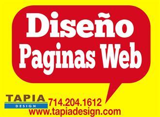 Paginas web Diseño llame hoy image 1