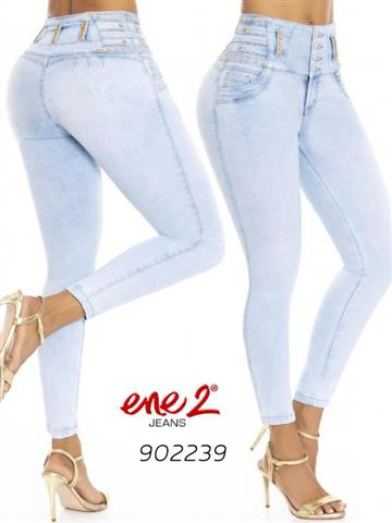$2100 : jeans colombianos levantacola image 1