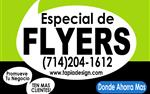 Diseño de Flyers/ Volantes en Atlanta