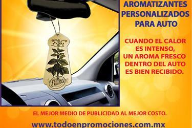 AROMATIZANTES PERSONALIZADOS P en Mexico DF