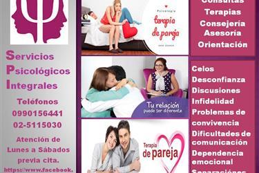 Terapia, Consejería de Pareja en Quito