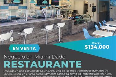 Compre restaurantes en Miami en Miami