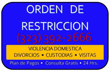 ►CUSTODIA/VISITA/CHILD SUPPORT en Los Angeles