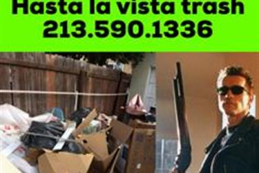 Recolección de basura en Los Angeles