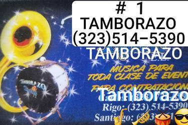 TAMBORAZO SCM TEQUILEROS #1 en Los Angeles