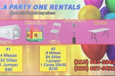 🎊🎊🎉L.A Party One Rentals 🎈 en Los Angeles County