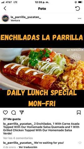 LA PARRILLAYucatan Mexicanfood image 6