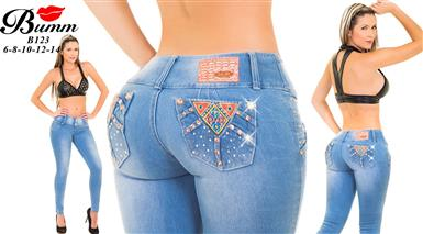$10 : JEANS COLOMBIANOS $10 image 1