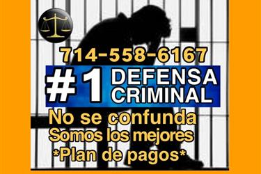 DEFENSA CRMINAL ♦ #1 en Los Angeles