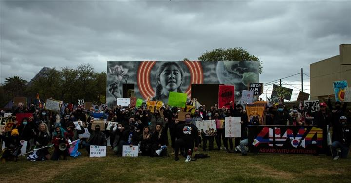 Gold and Black Unity Rally image 3