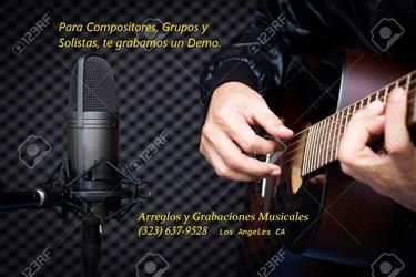 Grabaciones Musicales DEMO en Los Angeles County