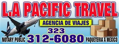 L.A PACIFIC TRAVEL Y TOURS