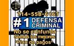 #1 EN DEFENSA CRIMINAL en Los Angeles