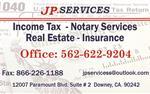 SERVICIOS DE TAXES & NOTARY en Los Angeles County