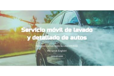 ANGIE'S CAR WASH MOBILE en Los Angeles County
