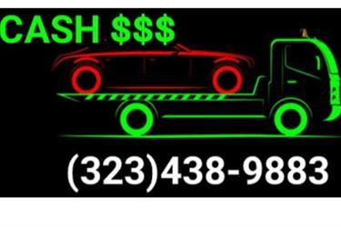 $$$$COMPRAMOS CASH FOR CARS$$$ en Los Angeles County