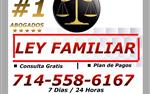 LEY FAMILIAR *.DIVORCIOS en Riverside County
