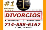 ○♦ DIVORCIOS / PLAN DE PAGOS en Orange County