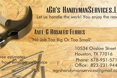 Agrshandymanservices en Houston