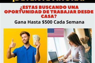 Ahora Gana $$ en Casa Online en Miami