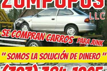 BUY   JUNKS CARS   $$$$$ en Los Angeles