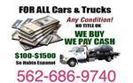 $$DINERO RAPIDO$ UNWANTED CARS en Los Angeles