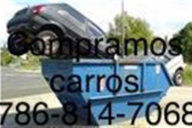 COMPRAMOS AUTOS 7868147068 en Miami