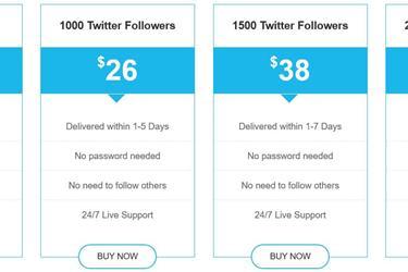 Buy Real Twitter Followers en New York