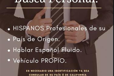 OFICINA BUSCA PERSONAL en Orange County