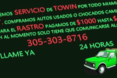 OFRECEMOS SERVIO DE TOWING 24H en Miami
