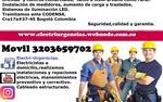 Electricista,Santa Bibiana. en Bogota