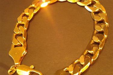 pulseras de hombre oro laminad en Los Angeles