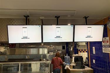 instalacion de tv en la pared en Los Angeles