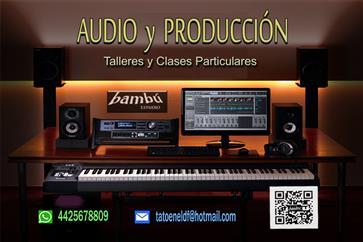 AUDIO Y PRODUCCIÓN / clases image 2