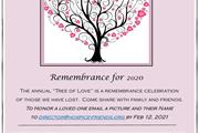 Hospice Friends 25th Annual Tree of Love Online E