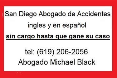 San Diego Accident Attorney en San Diego County