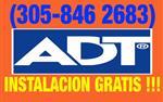(305-8462683 ALARMA ADT en Miami