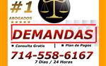 OFICINA #1 EN DEMANDAS en Orange County