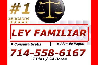 ♦♦♦♦█LEY FAMILIAR en Orange County