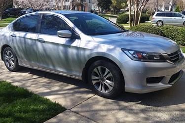2014 HONDA ACCORD LX en Los Angeles