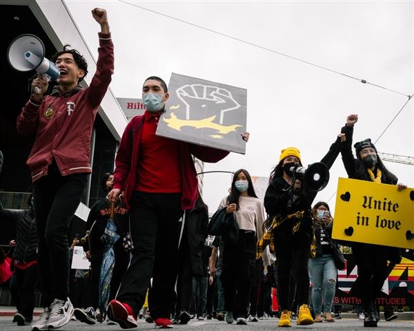 Gold and Black Unity Rally image 2