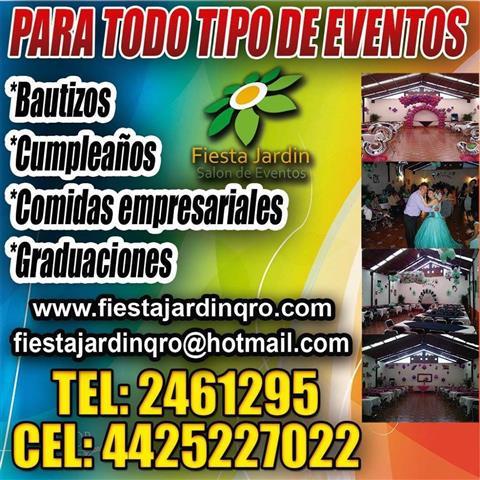Salón Fiesta Jardín Querétaro image 2