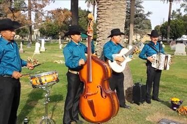 Servicio de musica Funerales en Los Angeles County