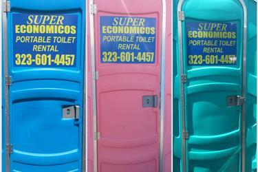 Baños portables en Los Angeles