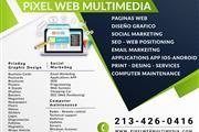 SERVICIO DE DISEÑO GRAFICO WEB