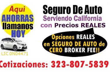 SEGURO MUY ECONOMICO en Los Angeles County